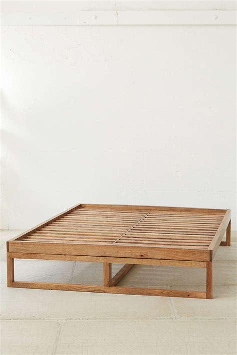 morey platform bed diy simple bed frame simple bed