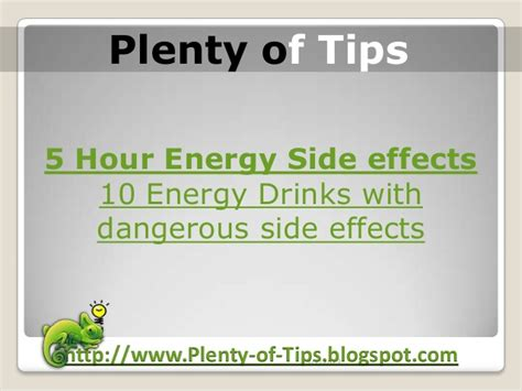 5 hour energy drink side effects 5 hour energy side effects 10 energy drinks with