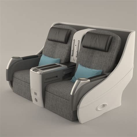 Airplane Chair by 3d Airplane Seat