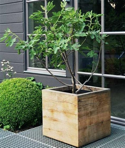 wooden box planters planter boxes made from wooden pallets pallet wood projects