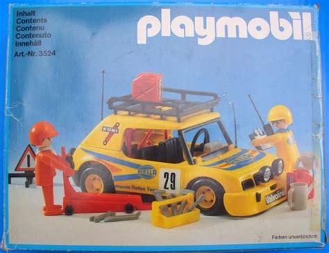Rally Auto Playmobil by Playmobil Set 3524v1 Yellow Rally Car Klickypedia