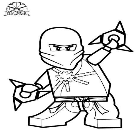 kleurplaat ninjago zane