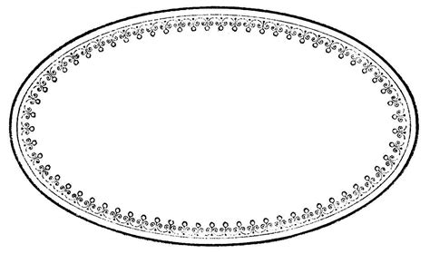 oval label templates oval frame labelgraphicsfairy bw1 the graphics