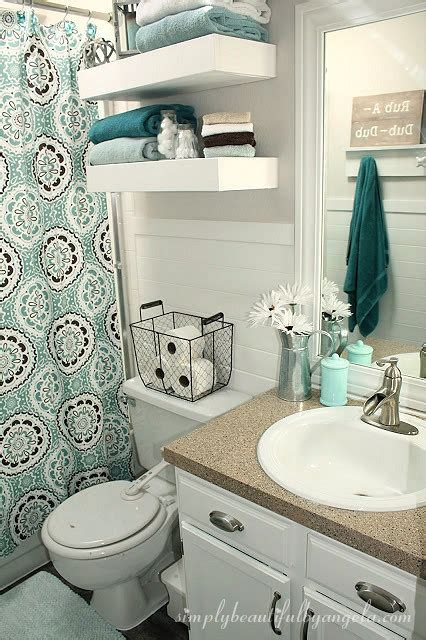 how to decorate a bathroom cheap simply beautiful by angela bathroom makeover on a budget