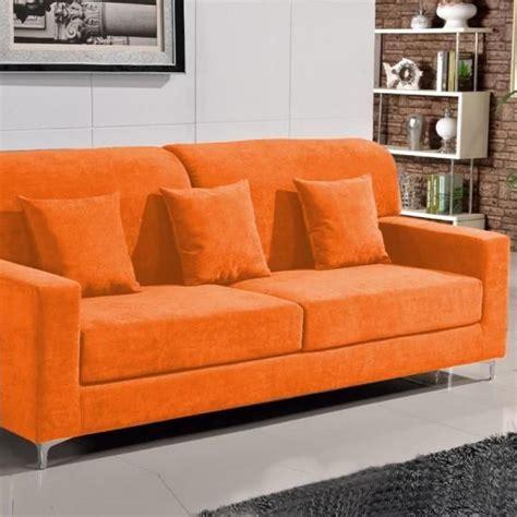canape orange photos canap 233 orange