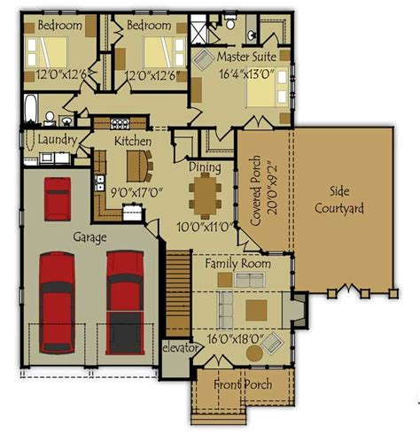 Small Homes Floor Plans by Small House Floor Plan Colors Ideas House Pinterest