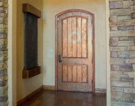 Floor And Decor Houston faux painted doors traditional front doors portland