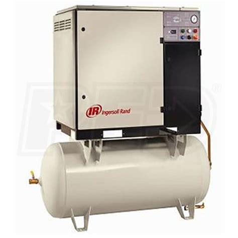 ingersoll rand up6 30 125 460 3 30 hp 120 gallon rotary belt drive air compressor 460v 3
