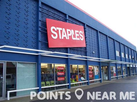 staples near me points near me
