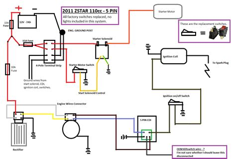 bmx 110 atv wiring diagram electrical schematic