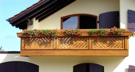Balkon Zaun Holz by Holz Classic Kassel Leeb Balkone Und Z 228 Une