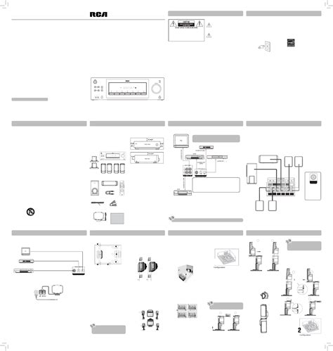 rca home theater system rt2870r user guide manualsonline