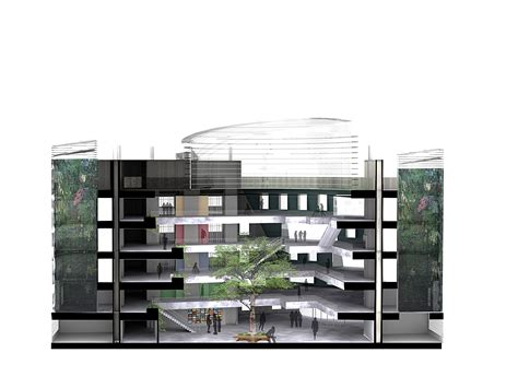 Hospital Sections by Low Energy Hospital Leedham Archinect