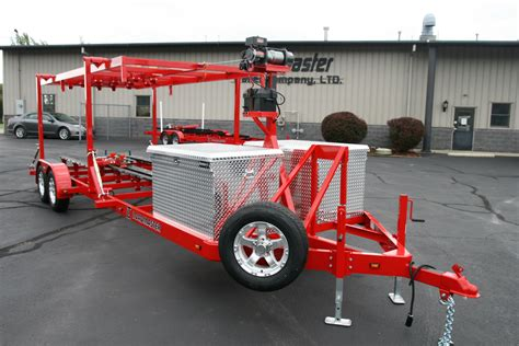 boat trailer stand wheel airboat and hydraulic stack trailers