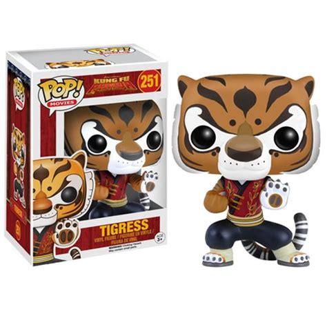 Pop Kung Fu Panda Po kung fu panda tigress pop vinyl figure funko kung fu