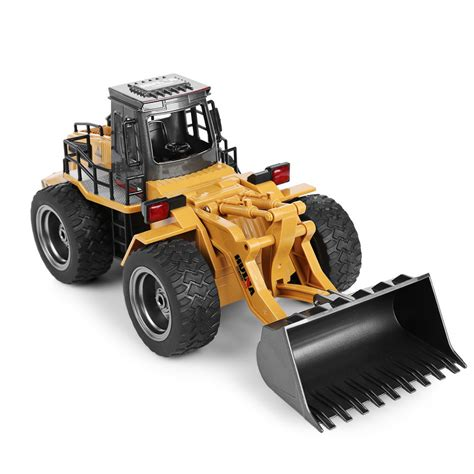 Remote Buldozer Remote Construction Bulldozer Truk huina1520 rc car 6ch 1 14 trucks metal bulldozer charging