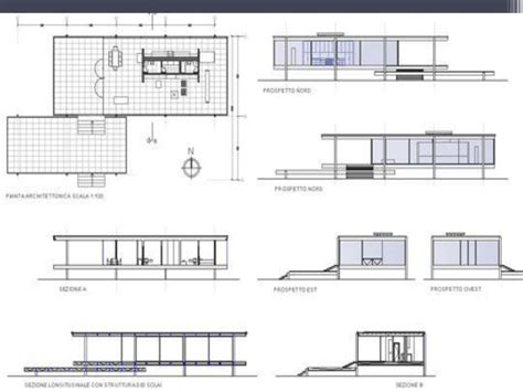Farnsworth House Floor Plan by Farnsworth House