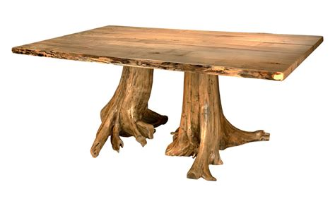 stump dining table fairhaven furniture