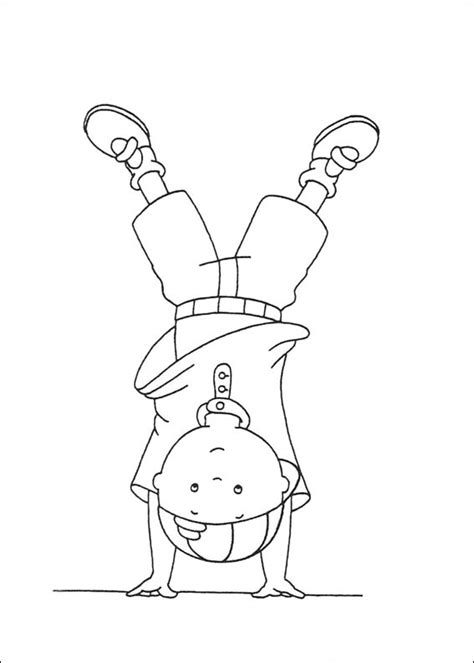 Free Printable Caillou Coloring Pages For Kids Caillou Coloring Pages