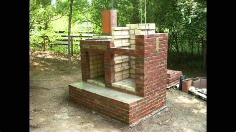 diy pit brick it is easy to make a brick bbq pit your own pit design ideas