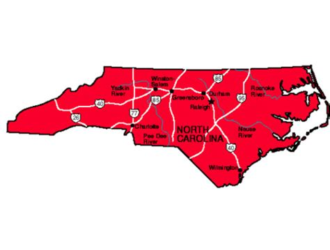 nc state carolina facts symbols tourist attractions