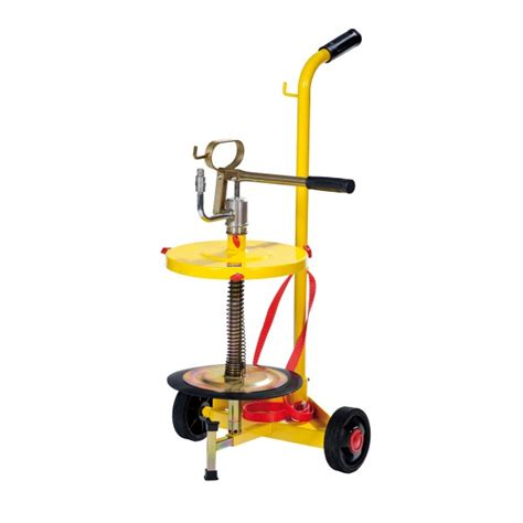 Pompa Gemuk Drum 20 L Tekiro 1 wheeled manual transfer grease for drums of 18 30 kg meclube s r l and grease
