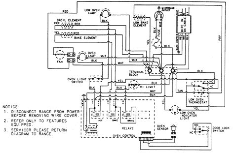 image of kenmore oven wiring diagram gas range