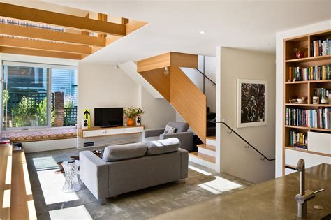 Split Level House Pictures Galeria De Casa Matai Parsonson Architects 7