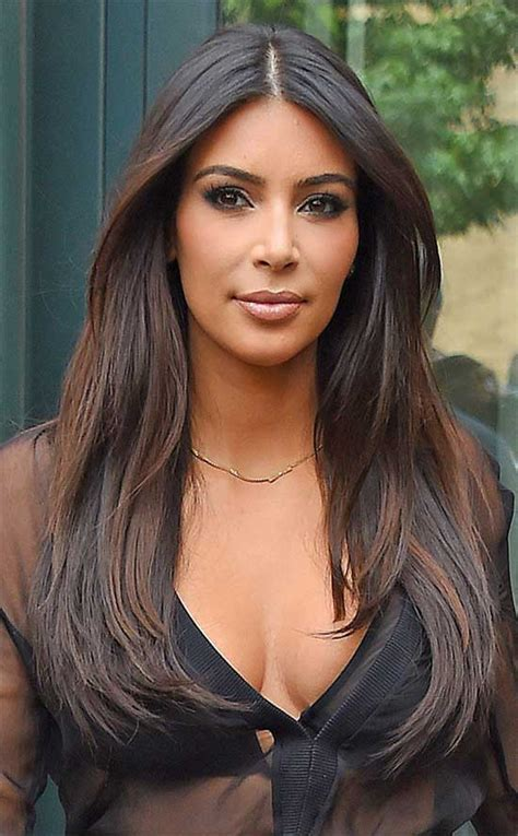 how to nail kim kardashians braids straight instylecom 27 most amazing haircuts for long straight hair ideas to
