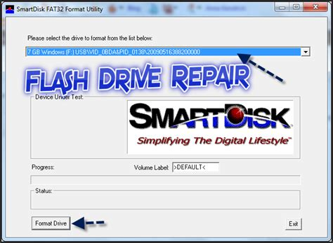 flash disk format software free download download smartdisk fat32 format utility for external hdd