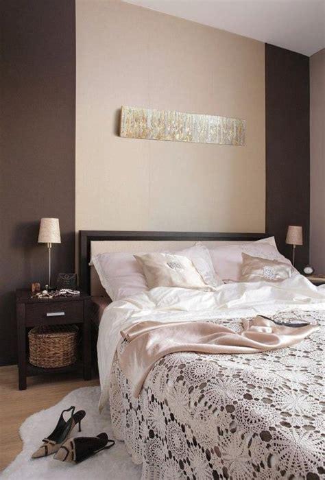 schlafzimmer idee wandfarbe schlafzimmer braun beige geh 228 ckelte tagesdecke