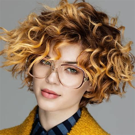 haircuts and colors for curly hair 30 most magnetizing short curly hairstyles for women to