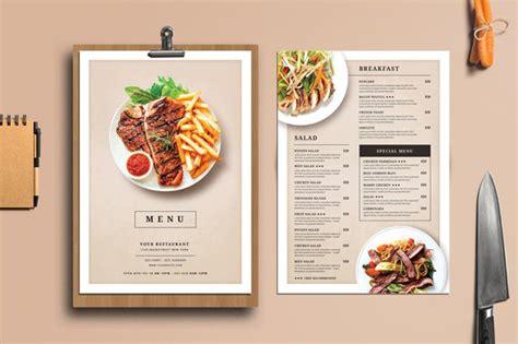 Exles Of Menu Cards In The Restaurants 27 plantillas de 250 de restaurante con dise 241 os creativos