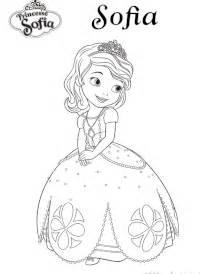 coloriage princesse sofia sur hugolescargot