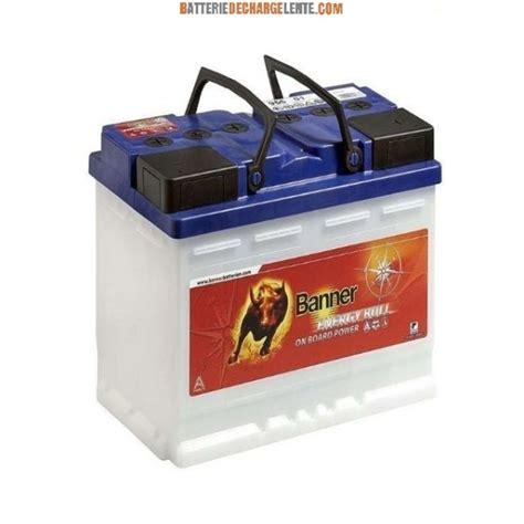 len mit batterie batterie banner d 233 charge lente bateau 12v 115ah batterie
