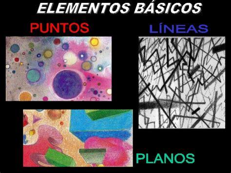 elementos plasticos de imagenes figurativas realistas elementos basicos de la expresion plastica