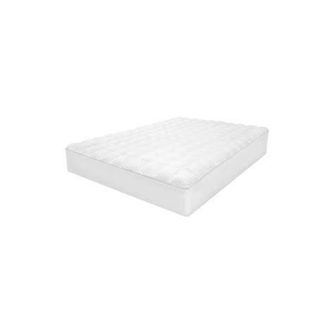 gel pad for bed sensorloft luxury top loft gel fiber mattress pad ebay