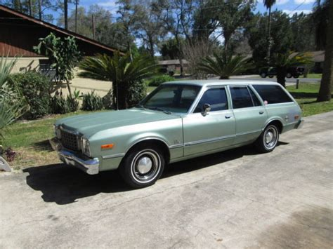 1978 plymouth volare wagon 1978 plymouth volare wagon 78 clean driver florida