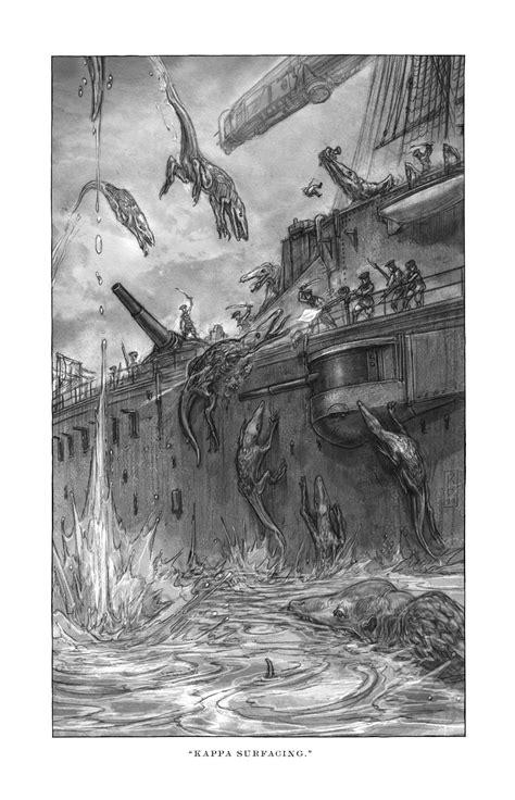 Goliath Art Reveal! (July) - Scott Westerfeld