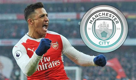 alexis sanchez man city manchester city transfer news alexis sanchez bid next