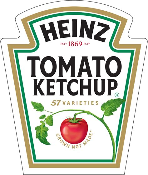 Heinz Label Template by Heinz Forum Dafont