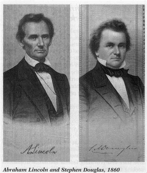 lincoln douglas debate excerpts from the seventh lincoln