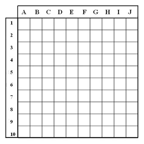 Battleship Game Graph Paper 171 The Best 10 Battleship Games Battleship Template