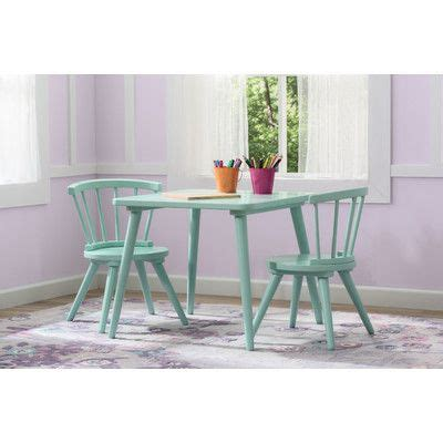 justine 3 table and chair set by delta 10 ideas about kid table on playroom storage