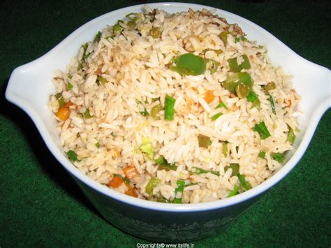 vegetable fried rice itslife in