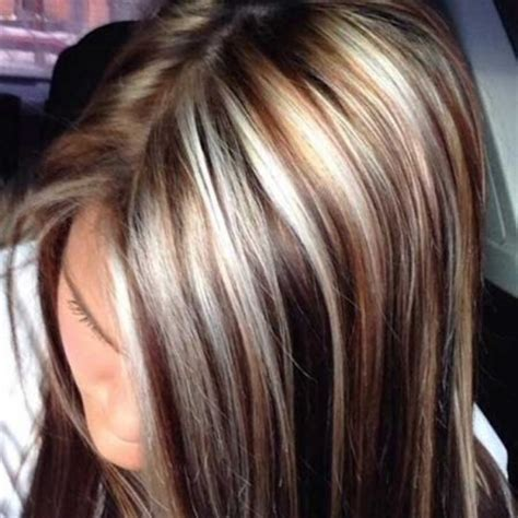 hair foils colour ideas the most awesome long hairstyles highlights lowlights