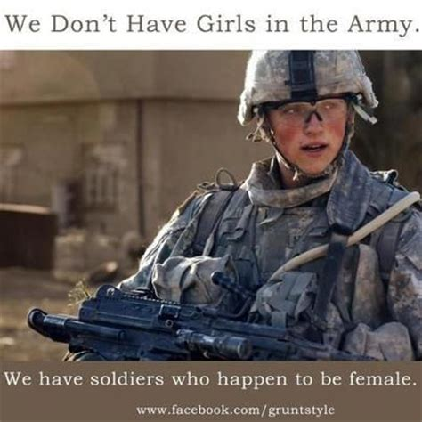 women in the military pros and cons female soldier quotes quotesgram