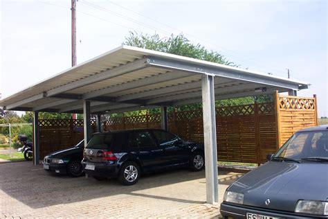 carport stahl carport aus stahl carports aus stahl und aluminium
