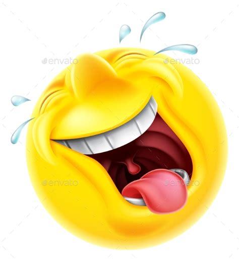 emoji laugh laughing emoji emoticon by krisdog graphicriver