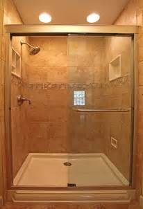 Small Shower Ideas For Small Bathroom by Trend Homes Small Bathroom Shower Design